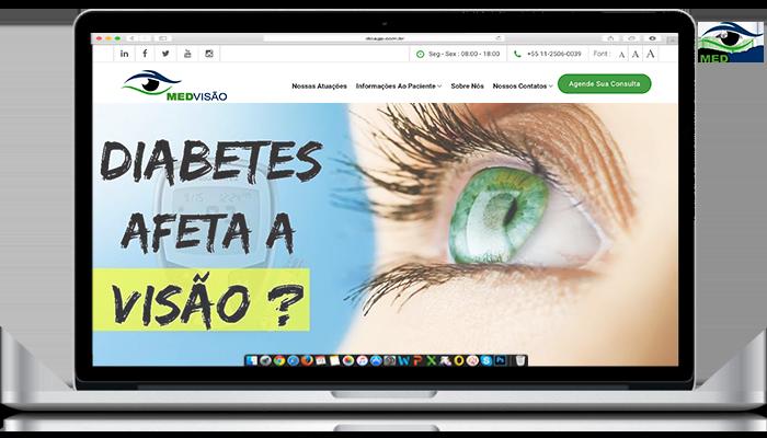Diabetes afeta a Visão?